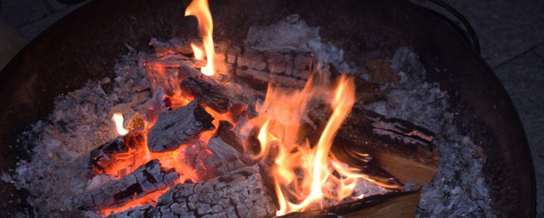 Lagerfeuer in der Jugendherberge Dinkelsbühl