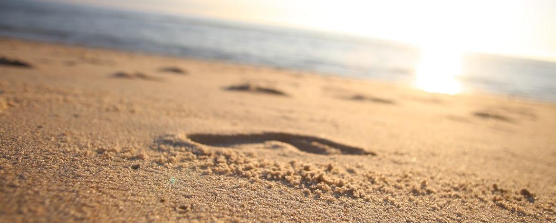 Strand vor der Jugendherberge Westerland