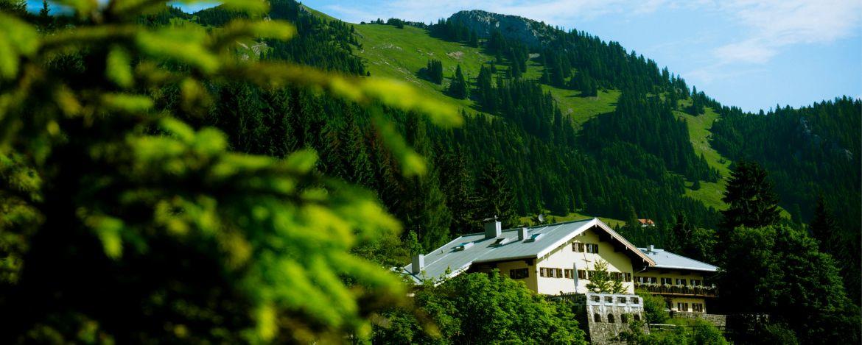 Tolle Lage der Jugendherberge Bayrischzell-Sudelfeld
