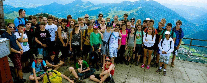 Auf Klassenfahrt in Bayrischzell-Sudelfeld