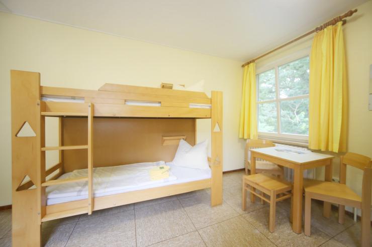 Zimmer der Jugendherberge Lauenburg