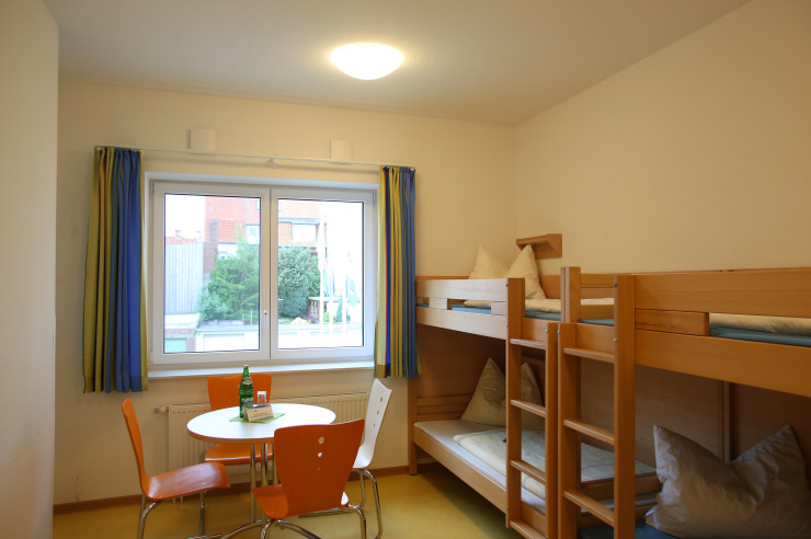 Zimmer der Jugendherberge Ratzeburg