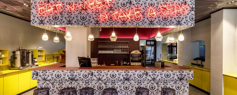 Bar der Jugendherberge Würzburg