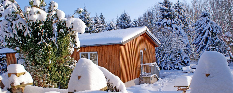 Winterstimmung in der Jugendherberge Kretzschau