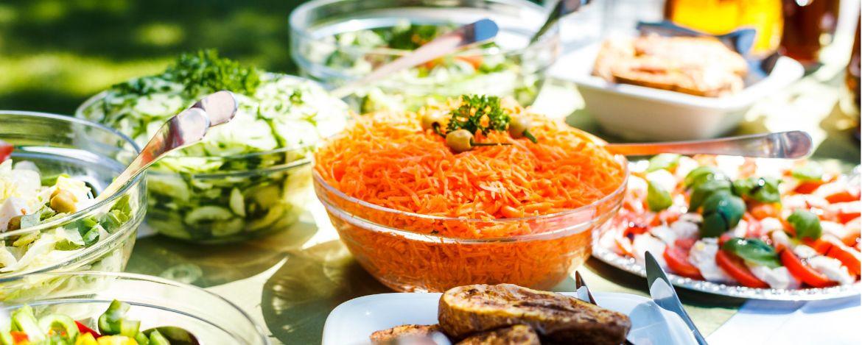 Gesunde und ausgewogene Ernährung in der Jugendherberge