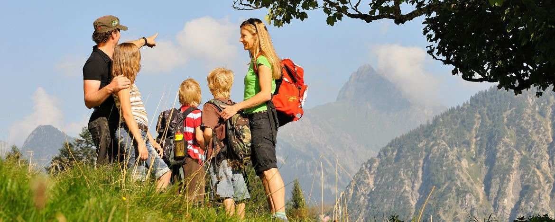 Familienwandern in Oberstdorf