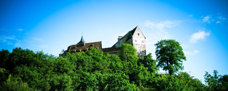 Burg Rothenfels - tolle Lage mitten im Spessart