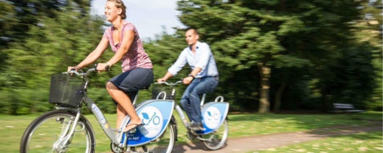 Fahrradfahren in Karlsruhe