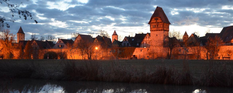 Malerische Mittelalterstadt