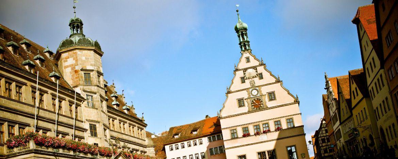 Ausflug mit der Familie nach Rothenburg