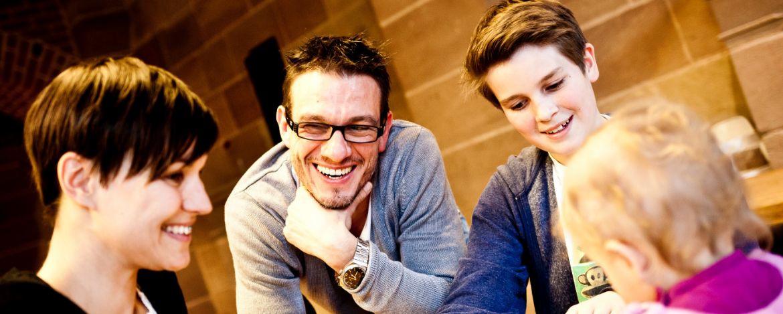 Blick auf die Passauer Altstadt und das Dreiflüsseeck