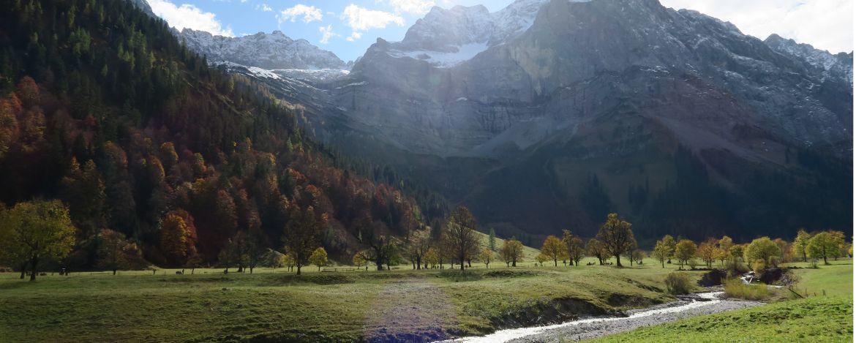 Naturpark Karwendel in Tirol