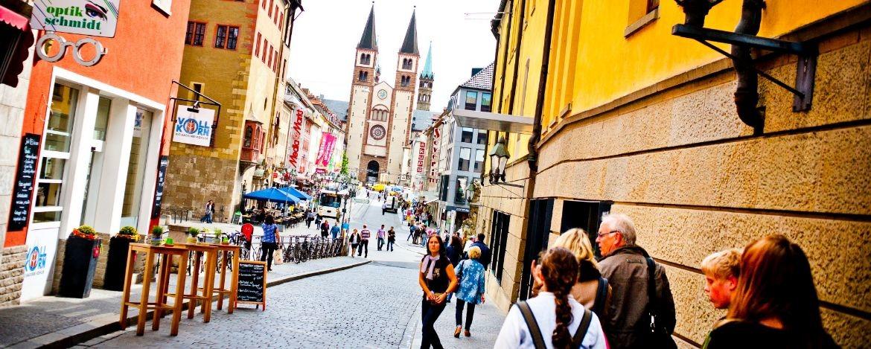 Spaziergang durch die Würzburger Altstadt