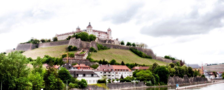 Festung Marienberg bei der Jugendherberge Würzburg