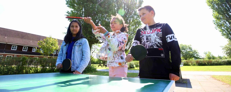 Tischtennis in Schönberg an der Ostsee