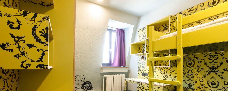 Zimmerbeispiel in der Jugendherberge Würzburg
