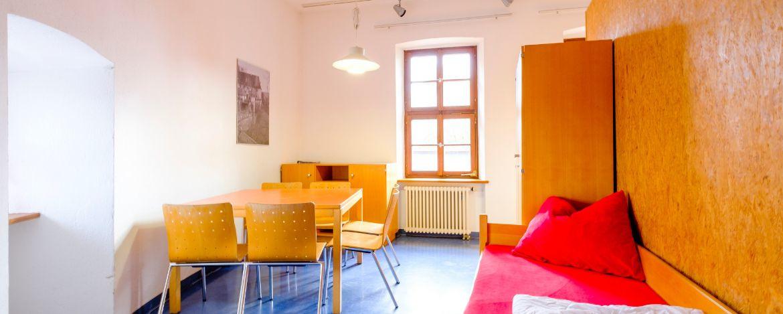 Zimmerbeispiel in der Jugendherberge Passau