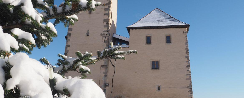 Die Jugendherberge befindet sich in einer mittelalterlichen Burganlage