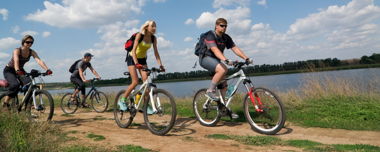 Fahrradtour der Jugendherberge