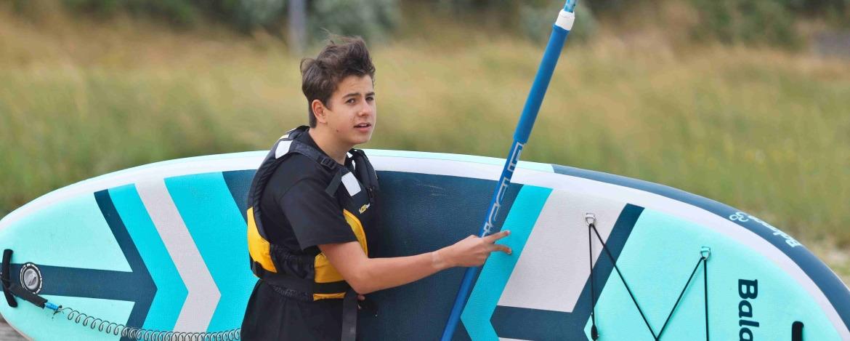 Lage der Jugendherberge Amrum direkt am Strand