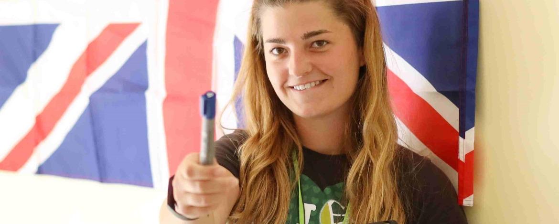 Mädchen an der Nordsee