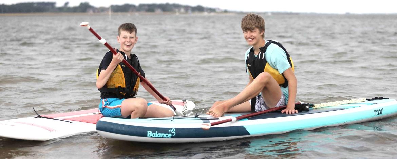 Englisch-Feriencamp am Strand