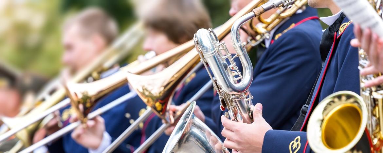 Orchester in der Jugendherberge Ratzeburg