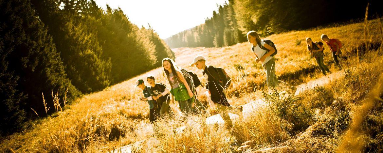 Klassenfahrt im Herbst in die Berge