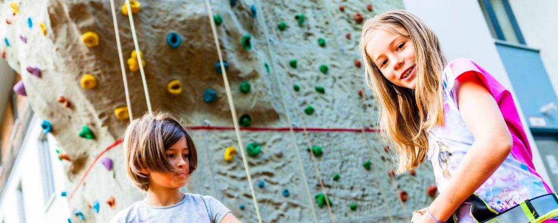 Schnupper-Kletterkurs in der Jugendherberge