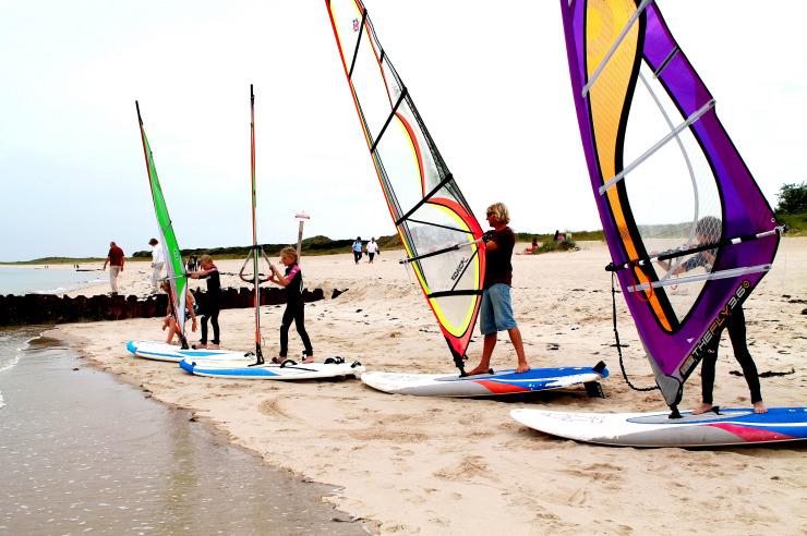 Surfkurs für Jugendliche und Erwachsene in Hörnum auf Sylt