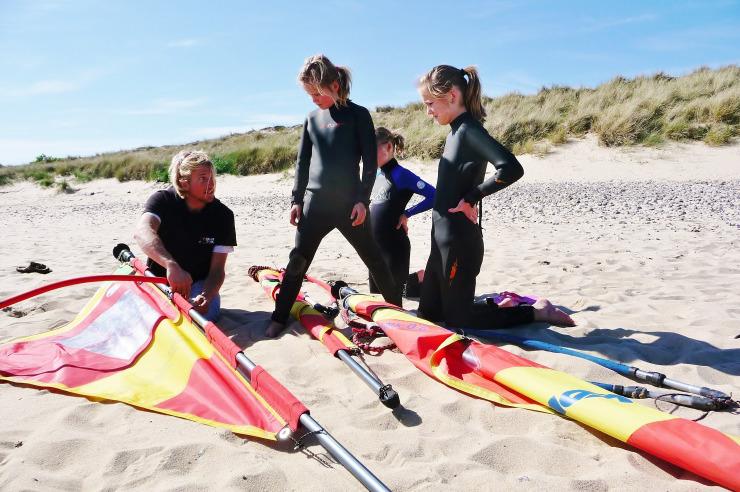 Surflehrer in Hörnum auf Sylt