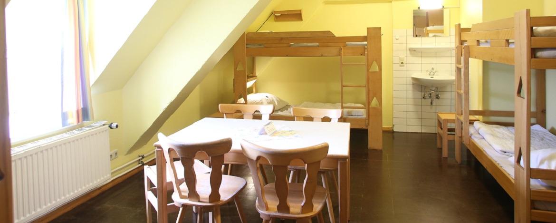 Zimmer der Jugendherberge Hörnum auf Sylt