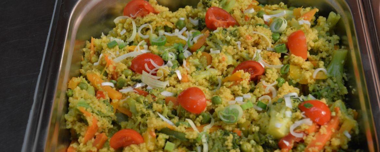 Couscous-Gemüsepfanne