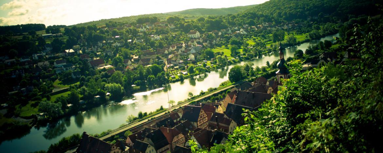 Blich auf Rothenfels