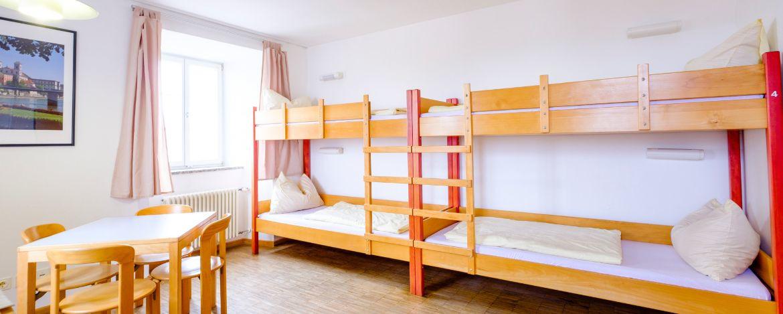 Zimmerbeispiel Jugendherberge Passau