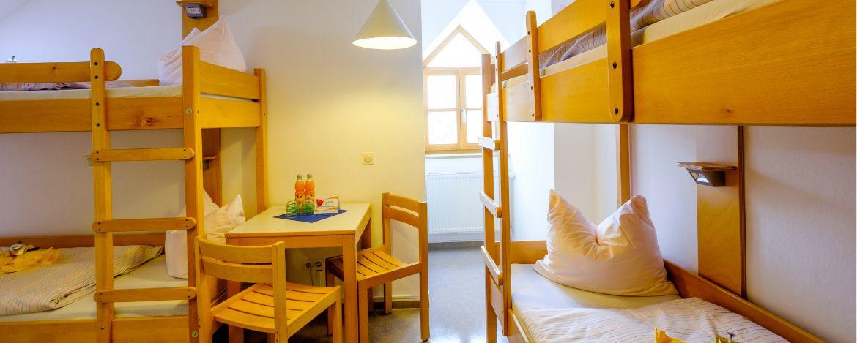 4-Bett-Zimmer Beispiel