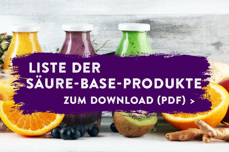 Liste der Säure-Base-Produkte