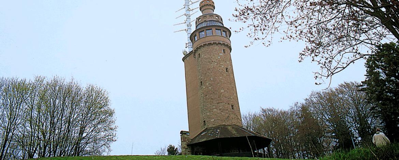 Turm auf dem Merkur, Urheber: Stadt Baden-Baden
