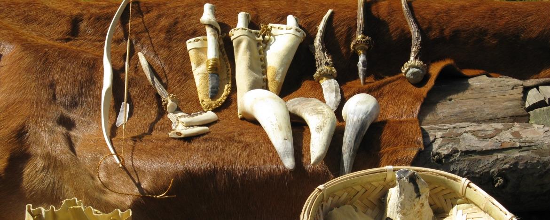 Steinzeit-Mitbringsel im Steinzeit-Museum