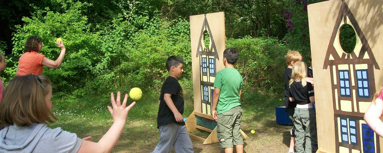 Spiele für junge Schulklassen in der Jugendherberge Mölln