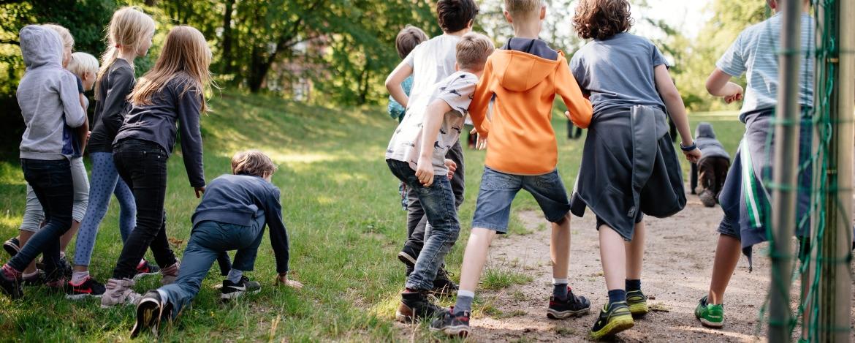 Bewegungsspiele bei der Klassenfahrt in Mölln