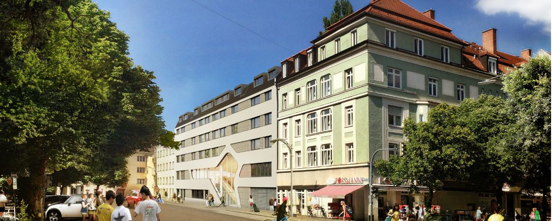 Moderne Jugendherberge für die ganze Familie im Zentrum Münchens