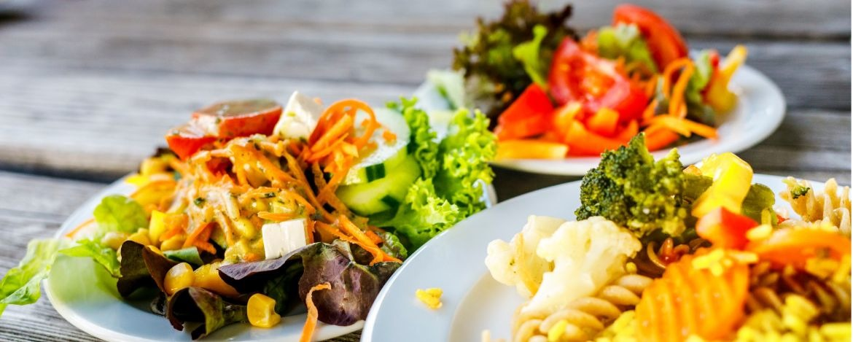 Gesundes und abwechslungsreiches Essen mit viel Bio
