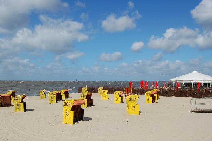 Strand von Cuxhaven-Duhnen