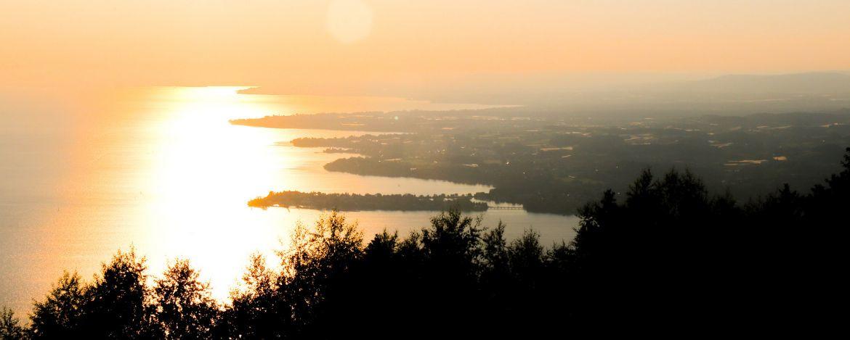 Sonnenuntergang über dem Bodensee - einfach traumhaft schön
