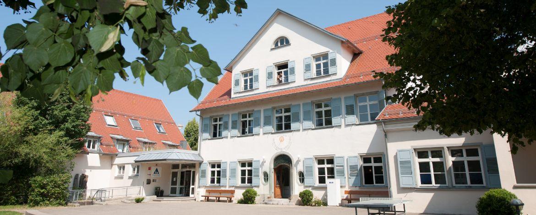Aussenansicht der schönen Jugendherberge Lindau