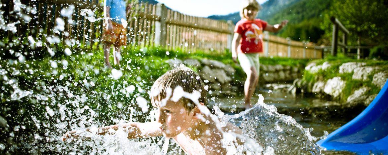 Wasservergnügen pur für die kleinen Gäste