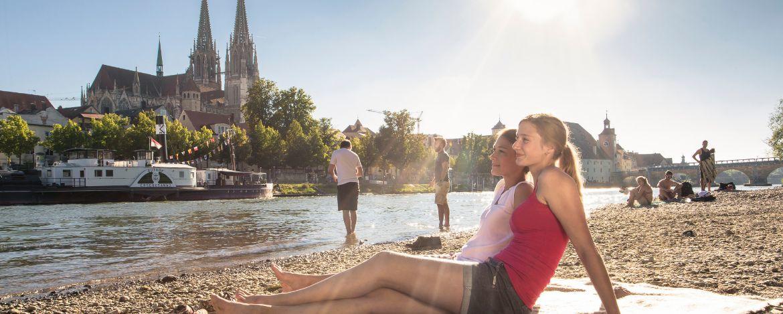Relaxen an der Donau