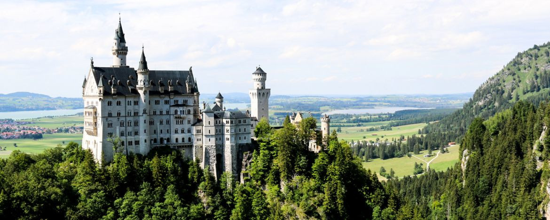 Schloss Neuschwanstein nahe der Jugendherberge