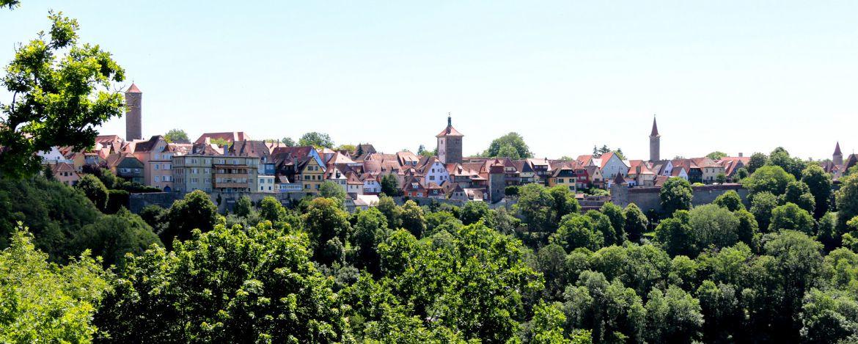 Die bekannteste mittelalterliche Stadt Deutschlands
